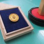行政書士徽章と職印1